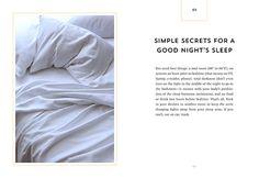 new health rules bed sleep