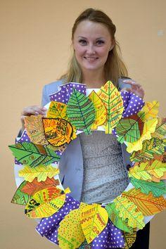 Autumn Crafts, Fall Crafts For Kids, Autumn Art, Art For Kids, Preschool Crafts, Fun Crafts, Arts And Crafts, Paper Crafts, Fall Classroom Decorations