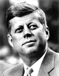 When I think of John F. Kennedy i think of the Cuban missal crisis and how he was able to keep a cool head under that much pressure..