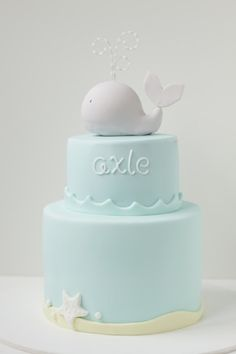 Caaaaity! Can you do something like this? Just the top part of the cake .. Since i will have cupcakes too! But with an anchor as well, obviously :))))
