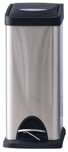 Stainless Garbage Can   Stainless Steel Step On Cans   Outdoor U0026 Indoor Trash  Cans, Recycle Bins, U0026 Ashtrays For Commercial, Office Or Home.