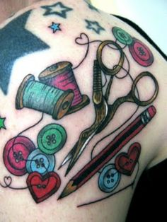 The Uniqueness of Being: Tattoosday: Crafty Inspirations