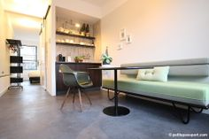 Stout & Co. - Luxury Bed & Breakfast in the centre of Amsterdam - The Mixed Green Room, shot by Petite Passport.