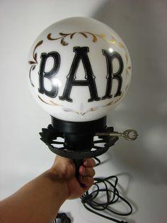 Old Vintage Bar Lamp Http Www Ebay Itm
