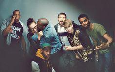 Jay-Z, Rashida Jones, Kanye West, Aziz Ansari, Justin Bieber, Kid Cudi and Tyler the Creator