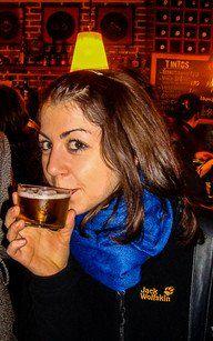 """Die kleinste Biergröße nennt man im Baskenland """"Zurito"""""""