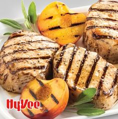 Five simple ingredients are all you need for this fabulous grilled dinner. Honey-Glazed Pork Chops with Grilled Peaches lets you skip the stove.