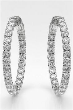 6.67 CTW Diamond 14K Gold Earrings - Enviius