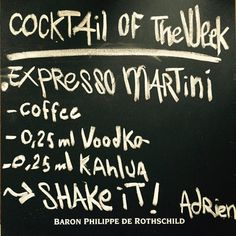 ! - Cocktail of the week - !  Today's cocktail : Expresso Martini  From Adrien  #eat #meet #eatmeets #amsterdam #netherlands #socialize #expat #clubsinamsterdam #amsterdamhousing #expatcenteramsterdam #socialclubamsterdam #footyamsterdam #newsnl #expaticanl #iamsterdam #iamexpat #internations #meal #foodie #foodpics #homemade #cook #instacook #instafood #lekkereten #uitinamsterdam #timeoutamsterdam #igeramsterdam #amsterdamfood