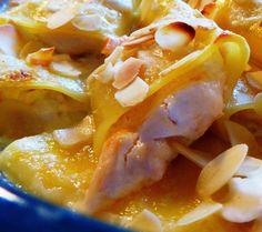 Paccheri al forno con ricotta e salmone affumicato per la ricetta:http://www.frittomistoblog.it/2015/01/paccheri-al-forno-con-ricotta-e-salmone.html