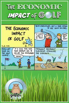 The Economic Impact of Golf  #golf #humor #golftalk #golfcourse #funny #golfing #wisdom #golf #truth #lol