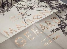 «Mother New York — Maison Gerard» в потоке «Брендинг / Айдентика, Лукбуки / Каталоги» — Посты на сайте Losko