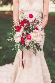Wedding bouquet idea; Featured Photographer: One Summer Day Photo