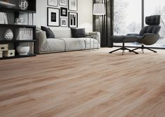 Open-up any space with these gorgeous wood effect tiles.