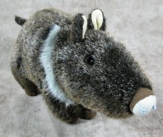 "Platte River Trading Wild Boar Pig 11"" Plush Stuffed Animal Toy #PlatteRiverTrading"
