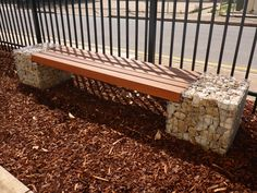 Rockweld Gabion bench seat