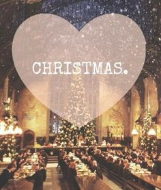 There's nothing more that I love than Christmas time. And Christmas at Hogwarts would be just beautiful!