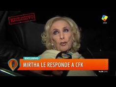 """Mirtha Legrand:""""No estoy arrepentida de lo que dije, todo el mundo lo co... Mala Persona, Decir No, Diva, World, Divas, Godly Woman"""