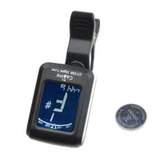 BestDealUSA Clip-on Guitar Tuner For Electronic Digital Chromatic Bass Violin Ukulele LCD by BestDealUSA. $6.39. Features:      Small and exquisite appearance, it is convenient to carry.     Super bright backlight, LCD display, it can provide excellent visibility.     360 degree rotatable clip, it can adjust at your suitable angle, simple and practical.     Matched with 3V CR2032 lithium battery, it is convenient to use.     With a clip, it is easy to fix on the instrument.     I...