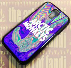 Arctic Monkeys Art For Samsung Galaxy S4 Black Rubber Case