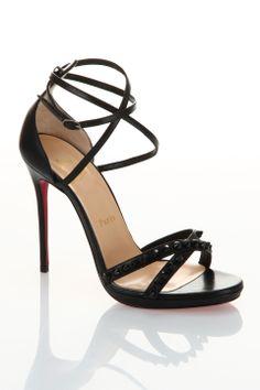 Louboutin Monocronana Sandals in Black