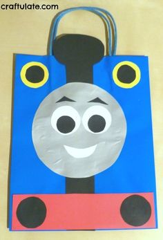 Thomas the Train Birthday Party by Craftulate