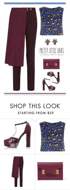 """""""Untitled #559"""" by modernmoda ❤ liked on Polyvore featuring Topshop, Madam Rage, Y-3, Sophie Hulme and Marni"""