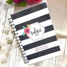 These cuties are now live in the shop! Track your faith on two page weekly layouts for an entire year  Prayer and gratitude memory verses sermon notes bible study... we gotcha covered. No more scribbling notes on the back of the church bulletin (guilty! ) Only at http://ift.tt/2ghIg4E