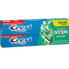 Get the Freshness of Scope in a Toothpaste. #Crest Complete Whitening + Scope Toothpaste has all the benefits of Crest toothpaste with the addition of Scope fres...