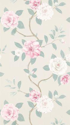 фон, цветы, узор, обои