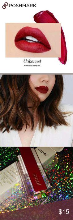 Jouer Lip Cream matte cabernet New in box Jouer Makeup Lipstick