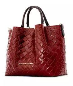 Nadire Atas on Hand Bag Addiction Dooney & Bourke City Woven Large Barlow Satchel Fall Handbags, Burberry Handbags, Fashion Handbags, Tote Handbags, Purses And Handbags, Fashion Bags, Tote Bags, Leather Handbags, Women's Handbags
