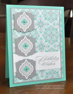 by Beth McAlexander, Card Creations by Beth: Techno Stamper Sketch Challenge #271