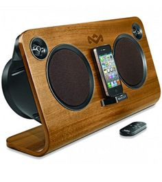 Here s one for the eco-friendly audiophile  House of Marley s new Get Up  Stand Up home audio system is made from FSC-certified birch wood and  recycled ... b82cf05ad0a6