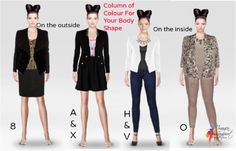 How To Wear a Column of Colour For Your Body Shape | Inside Out Style http://www.insideoutstyleblog.com/2014/10/how-to-wear-a-column-of-colour-for-your-body-shape.html