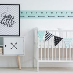 DIY Home Decor Idea: Oodles Of Ways To Use Arrow Wall Decals In Home Decor