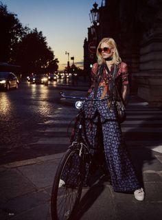 Фотограф Дэвид Бертон - «Elle» США