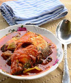 Asam pedas ikan terubok - sangat unik! #asianfood