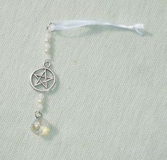 Beaded Pentagram Icicle Ornament or Sun Catcher or Sun Catcher - $10.99 - Handmade Metaphysical, Crafts and Unique Gifts by Harmonee's Magickal Creations