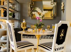 Trend Spotting: Dark walls in home decor, interior design, art, accessories, and decoration. How to mix and style dark walls in your own home.