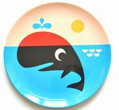 Whale Plate from www.kidsdinge.com