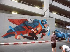 BUKRUK MURAL on Behance
