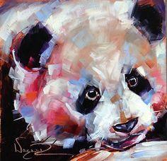 Baby by Olga Wagner Oil ~ 6 x 6