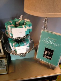 {Tiffany and Co boxes decoration } please follow}