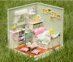 aliexpresscom buy 3d diy dollhouse kit room box miniatures aliexpresscom buy 112 diy miniature doll house
