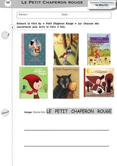 Exercices GS autour du Petit Chaperon Rouge