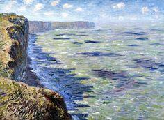 1881Claude Monet Studio del mare visto dall'alto