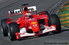 2002 GP Brazylii (Rubens Barrichello) Ferrari F2001