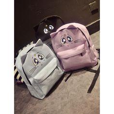 Harajuku sac à dos Style Sailor Moon à dos en toile mignon fois chat sacs sac à bandoulière scolaires pour adolescent filles cartable mochila dans Sacs à dos de Valises et sacs sur AliExpress.com   Alibaba Group