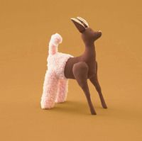Deer.jpg (1 of 4) Dentsu Japan has released a print campaign for Japanese organ transplant group Green Ribbon, through a special transplant operation soley done for toys. The project aims to once again infuse life to broken toys, so that the owners can play with the toys again.